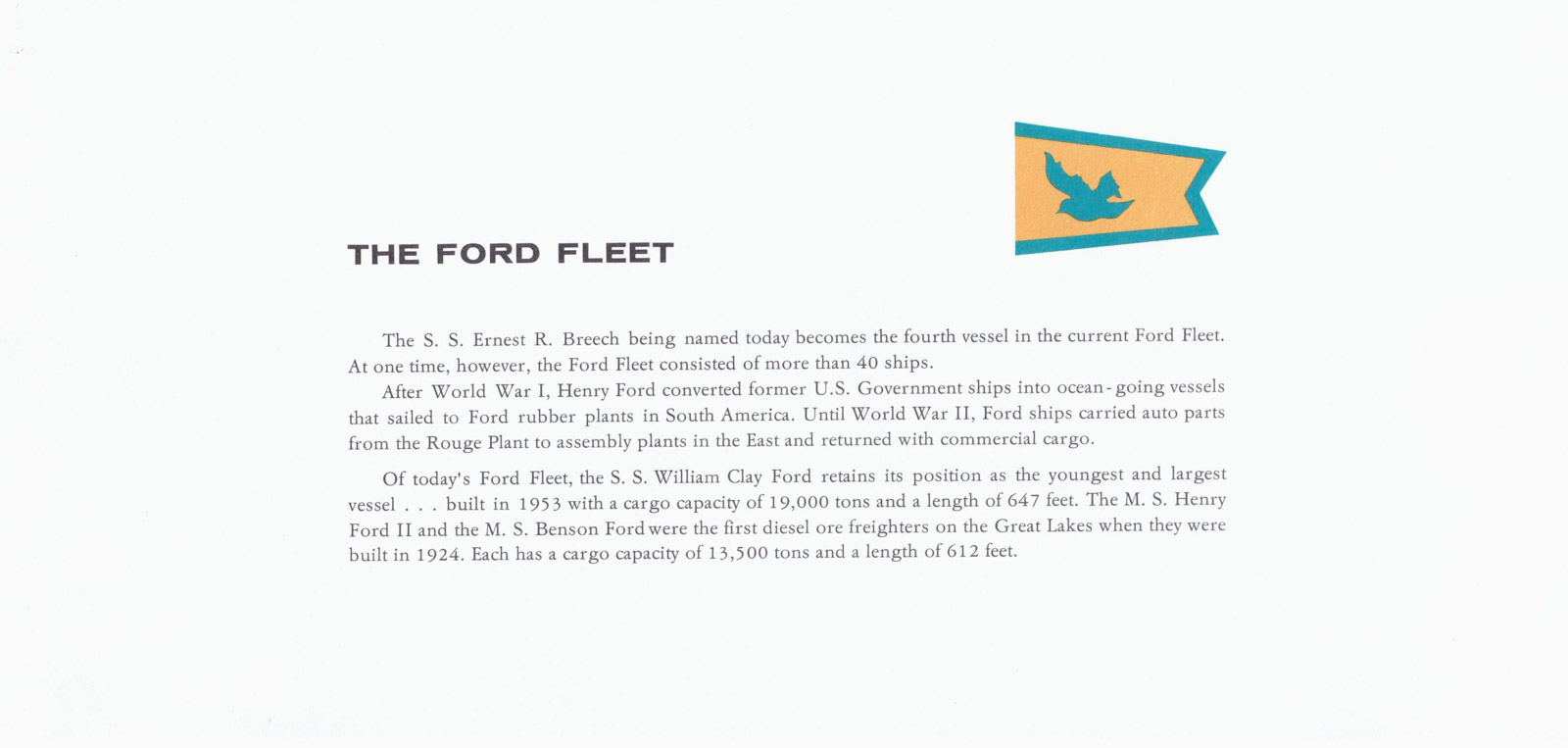 The Ford Fleet